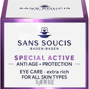 sans soucis, oogcrème, anti age, antirimpel, special active