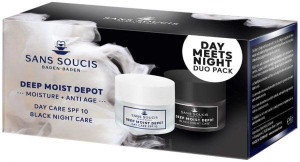deep moist depot, dagcrème, nachtcrème, factor 10